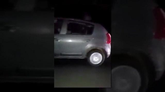 Otoyolda araç seyir halindeyken ilişkiye girdiler...