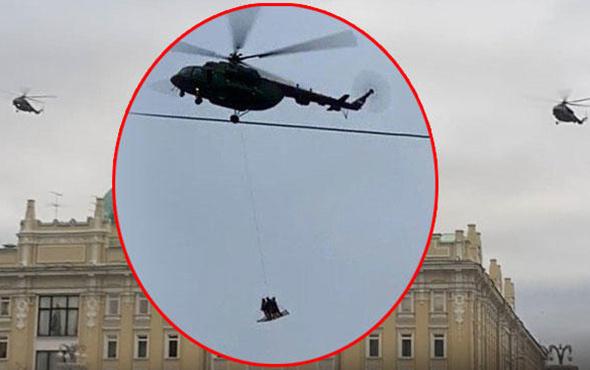 Rusya bu görüntüleri konuşuyor! Kremlin Sarayı üzerinde...
