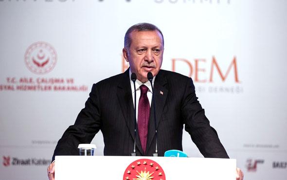Erdoğan Batı'yı örnek gösterdi: Başka ülke yok biz bir numarayız