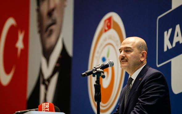 Süleyman Soylu'dan dikkat çeken açıklama: 95 kişi katıld
