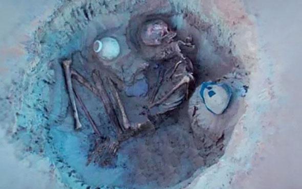 3700 yıllık hamile kadın cesedi keşfedildi