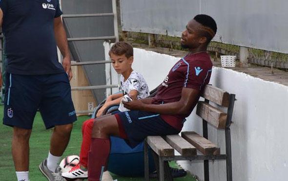 Trabzonspor'da Onazi'den korkutan haber