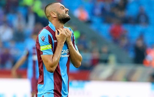 Burak Yılmaz'dan sürpriz! Kadro dışı kaldı ama Trabzon'da