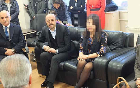 Kadın öğretmene tokat atan veli gözaltına alındı