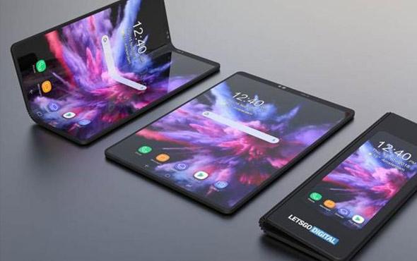 Samsung'un ekranı katlanan telefonun adı belli oldu