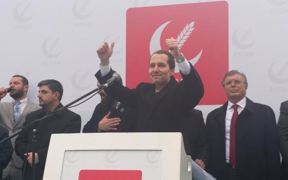 Fatih Erbakan: İntikam için gelmiyoruz