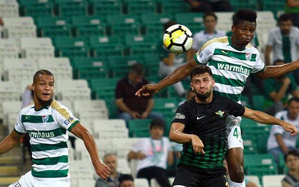 Akhisarspor Bursaspor'u konuk ediyor