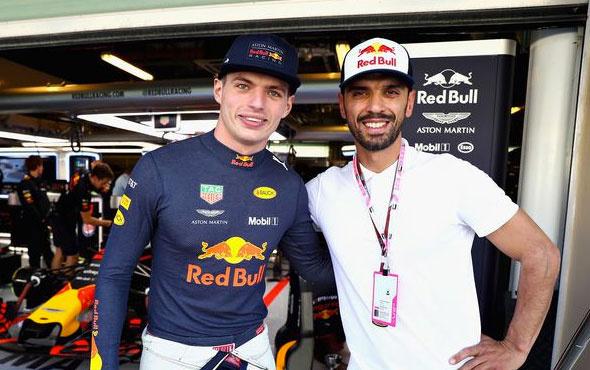 Kenan Sofuoğlu Hollandalı pilot Max Verstappen ile buluştu