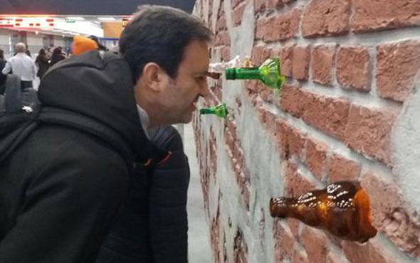 Yeşilay cemiyeti şişenin dibini gösterdi!