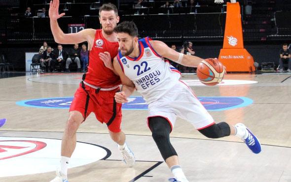 Anadolu Efes Gaziantep Basketbol'u devirmeyi başardı