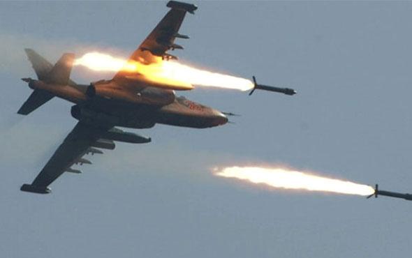 Rus uçakları Halep'in güneyini bombaladı!