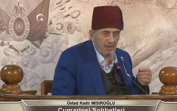 Kadir Mısıroğlu'ndan tepki çeken Atatürk açıklaması! Lisede resmini yırttım