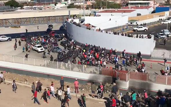 ABD-Meksika sınırında tansiyon yükseldi