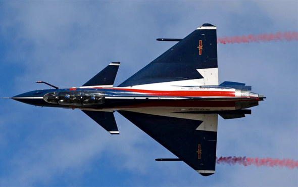 Çin savaş uçağı hava sahasını ihlal etti jetler havalandı