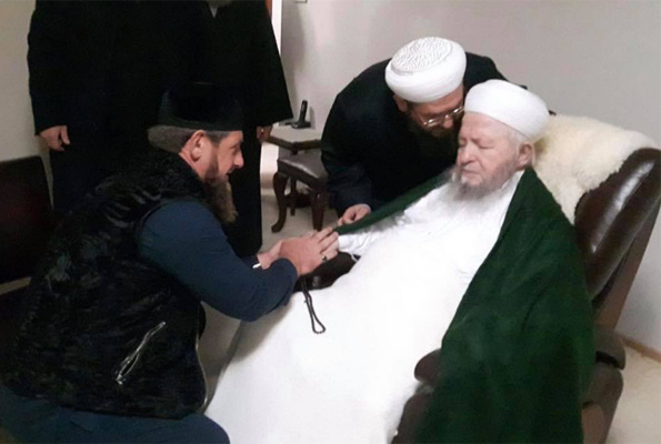 Çeçen lider Kadirov'dan İsmailağa cemaatine ziyaret