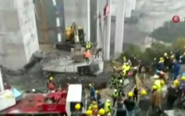 Kocaeli Gebze'den kötü haber! Beton blok düştü işçiler altında kaldı