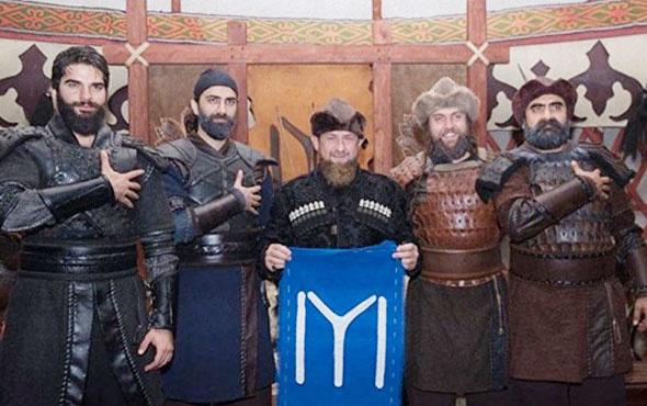 Diriliş Ertuğrul setinde bir lider Kadirov'un Engin Altan Düzyatan üzüntüsü