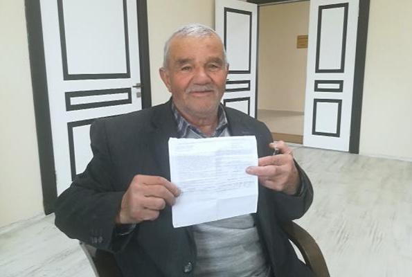 Geçmediği yoldan ceza yedi 80 yaşındaki amca 'Yürüyemiyorum bile' dedi