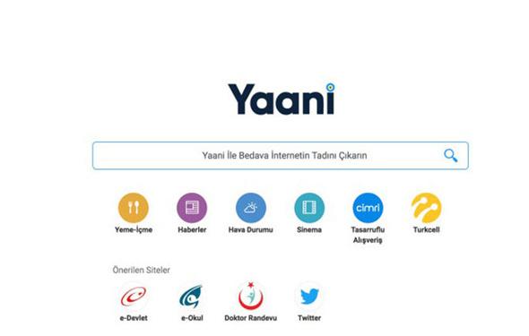 Yaani, artık e-ticarette de söz sahibi