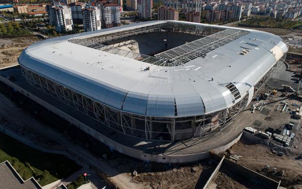 Eryaman Stadı Ankaragücü-Beşiktaş maçına yetişiyor