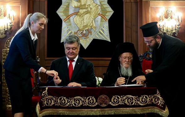 Ortodoksları ayağa kaldıracak ziyaret anlaşma imzaladılar