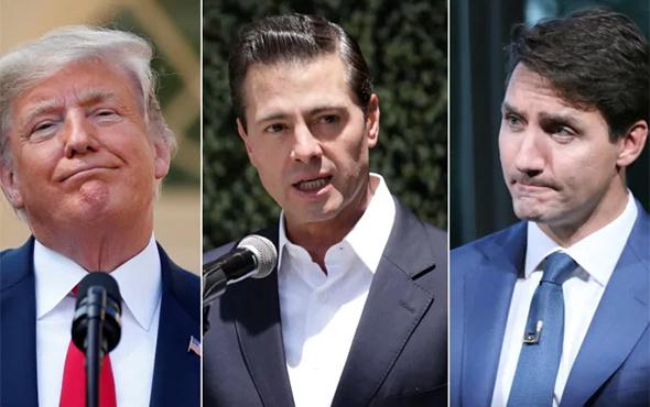 ABD, Meksika ve Kanada liderleri kritik anlaşmayı imzaladı!