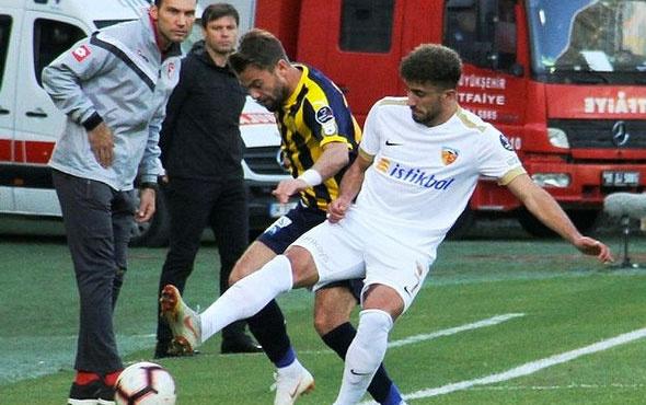 Maç sonucu! Ankaragücü 3-1 Kayserispor