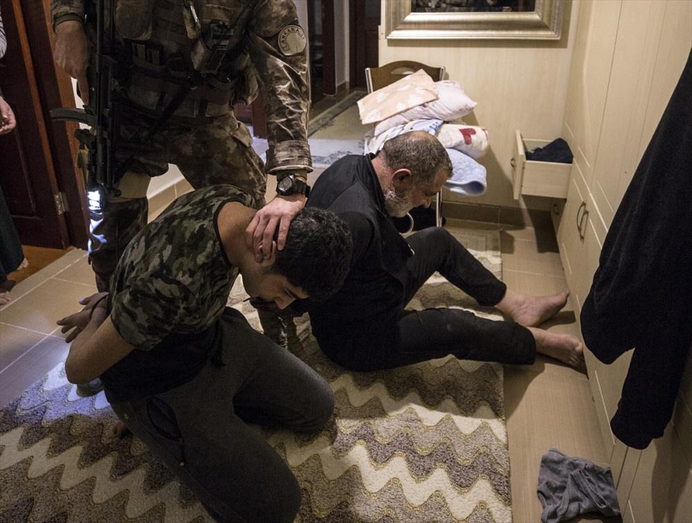 Ankara'da PKK'nın 'haraç' çetesi çökertildi neye uğradıklarını şaşırdılar