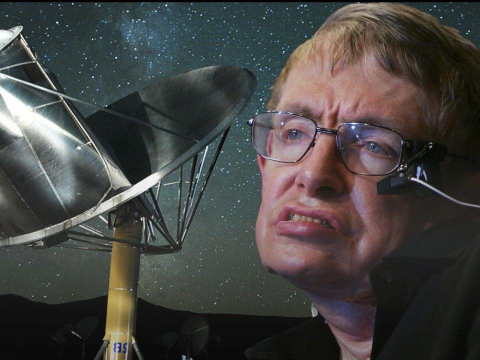 Stephen Hawking'in uyarısına rağmen tarihi adım atılıyor - Sayfa 1