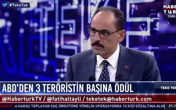 ABD'nin PKK hamlesine Beştepe'den ilk tepki