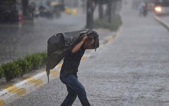 Meteoroloji uyarı geçti! 12 ilde sağanak yağış