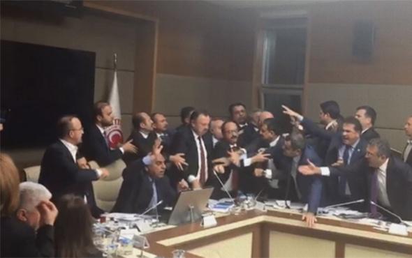 Meclis Sağlık Komisyonu'nda tartışma çıktı!