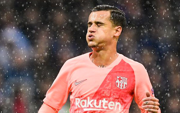 Barcelona'ya Coutinho'dan kötü haber