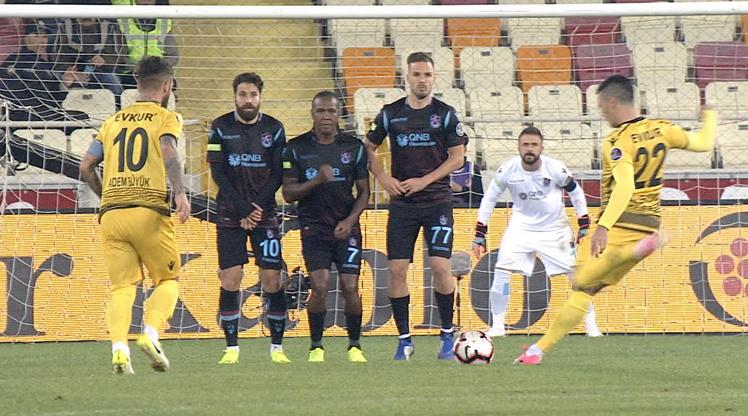 Yeni Malatyaspor Trabzonspor maçı golleri ve geniş özeti