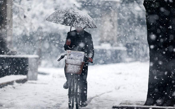 Isparta hava durumu haritalı 5 günlük güncel kar tahmini