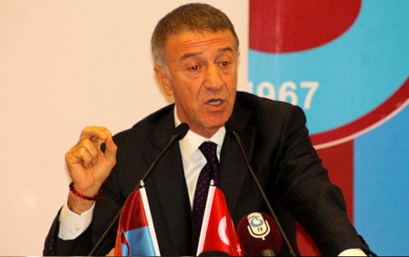 Trabzonspor Başkanı Ağaoğlu'na verilen ceza kaldırıldı