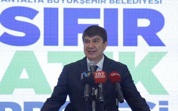 Antalya Büyükşehir Belediyesi 'Sıfır Atık Projesi'ni başlattı