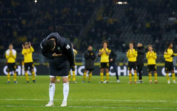 Nuri Şahin'in duygusal anları eski takımından büyük sürpriz