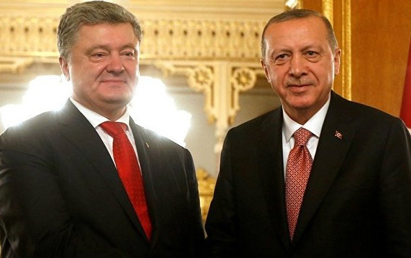 Ukrayna Cumhurbaşkanı Poroşenko: Erdoğan'a minnettarım
