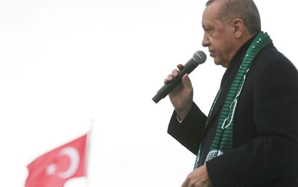 Erdoğan Kılıçdaroğlu'na '31 Mart'da sandık var çalış seninde olsun'