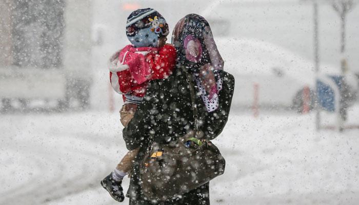 Edirne'nin Keşan ilçesinde kar tatili