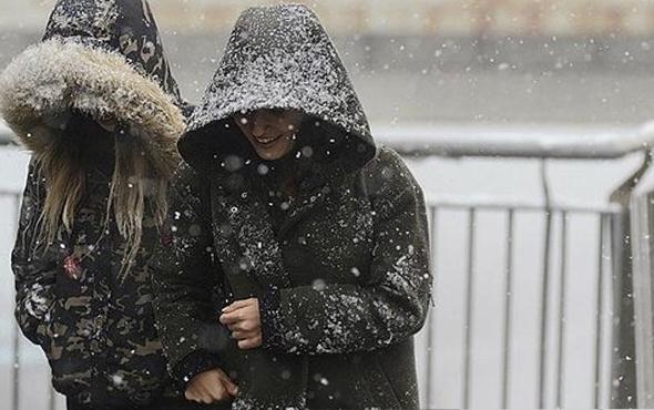 Tekirdağ saatlik hava durumu fena kar birden başladı