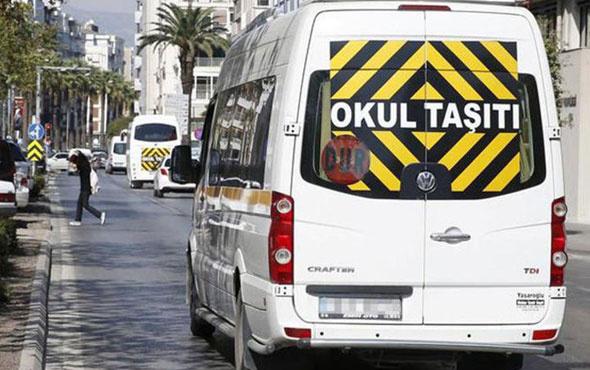 İçişleri Bakanlığı duyurdu! 599 okul servisi trafikten men edildi