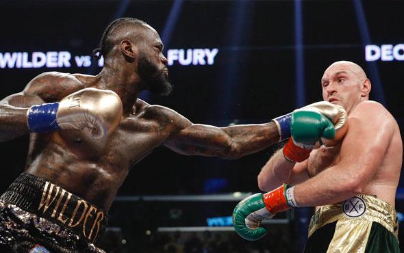 Dünyanın konuştuğu Wilder-Fury maçı berabere bitti!