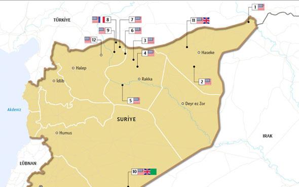 Amerika Suriye'den çekiliyor sebep Türkiye ve Erdoğan deniyor şu haritaya bakın!