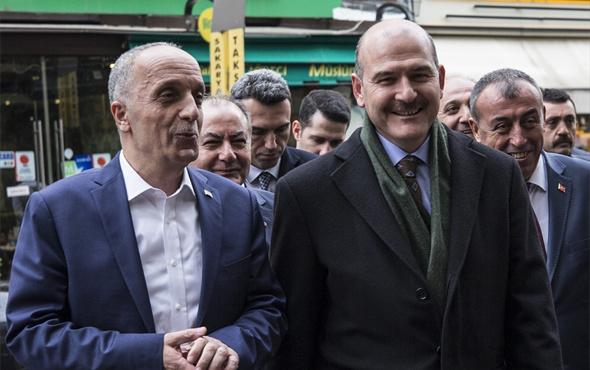 İçişleri Bakanı Süleyman Soylu'dan Türk-İş'e ziyaret