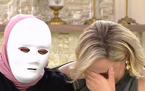 Beyaz TV'de kan donduran itiraf! Maskeyle canlı yayına çıktı