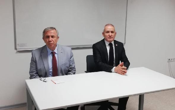 Mansur Yavaş, CHP Ankara İl Başkanlığı'nı ziyaret etti