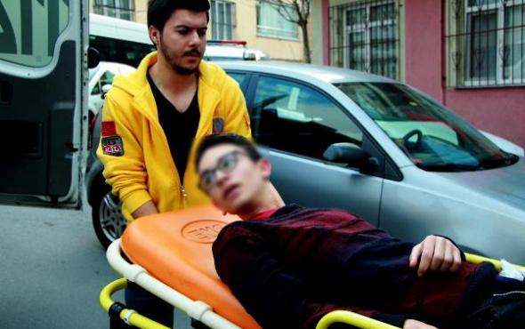Şişli'de korku dolu anlar: Sağlık ocağına sığındı!