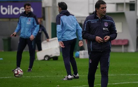 Trabzonspor'da eksikler Karaman'ın canını sıkıyor!